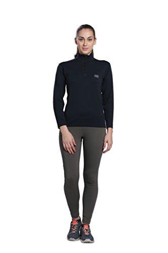Blau Versiegelt Bereich (Silvertraq Frauen 'S Quick Dry Running Shirts/Long Sleeve Sweatshirt Grössen: XS-3X L, Damen, ST-W002A3XL, Anthrazit, XXX-Large)
