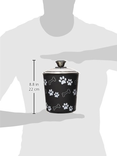 Loving-Pets-Bella-Dog-Bowl-CanisterTreat-Container