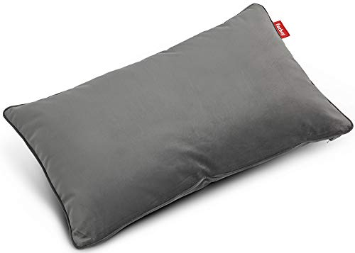 Fatboy 103115 King Pillow Coussin en Velours Taupe 66 x 40 cm