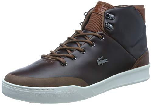 Lacoste Herren Explorateur Classic CAM0025DT3 Sneaker, Braun (Brown), 44 EU
