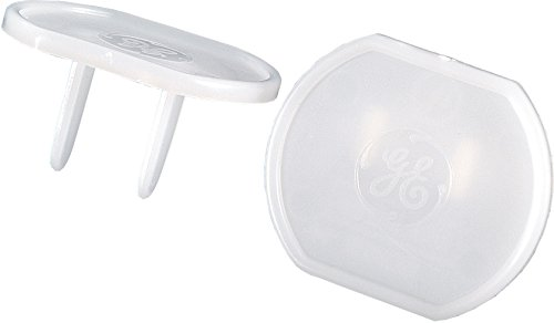 GE 50271 Outlet Plastic Safety Cover, Clear, 8 Piece by Jasco Products  Company, LLC