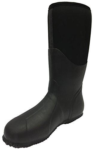 Regenstiefel Boots Gummistiefel Nora Unisex 7962411 Champion Neopren mit Erwachsene Core Black 6AnqC4Uw