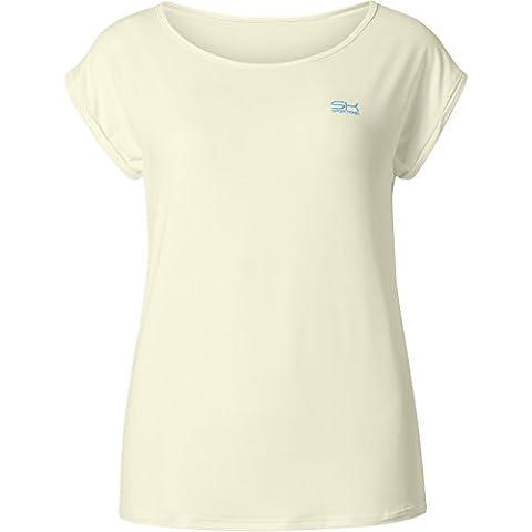 Sport Enfant Fille & Femme Tennis/Fitness/Sport Loose Fit T-shirt S ivoire
