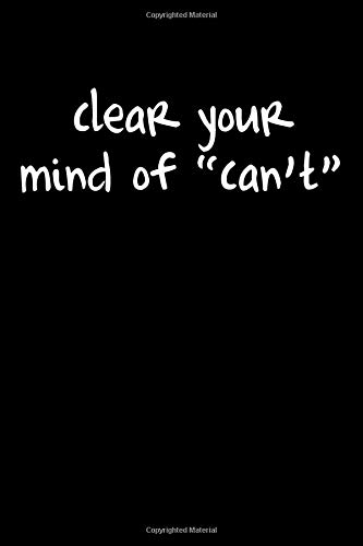 clear your mind of
