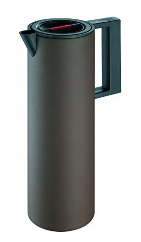 Rohe Germany Isolierkanne Tempra 1 Liter Braun Kunststoff Ceran Gas Rund 221143-br