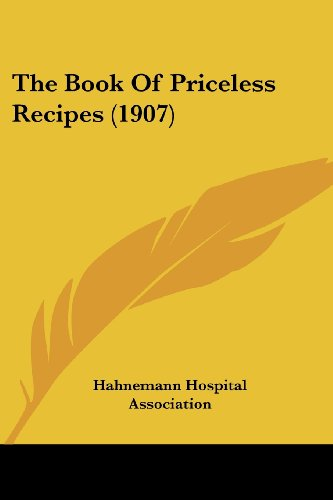 The Book of Priceless Recipes (1907)