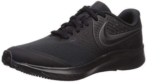 Nike Star Runner 2 GS, Zapatillas de Running Unisex Niños, Negro Black/Anthracite/Black/Volt 003...