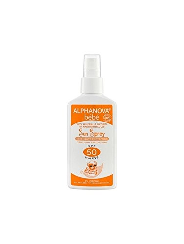 Alphanova Bébé Sun Spray SPF 50 125 g
