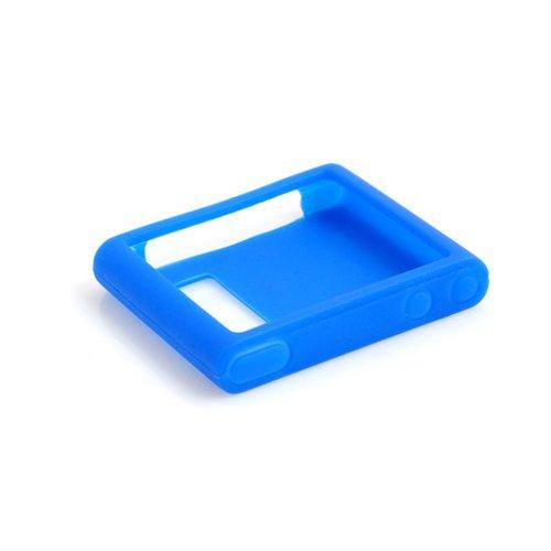 System-S Silikon Hülle Tasche Case Skin Schutzhülle in Blau für Apple iPod Nano 6 Apple Ipod Nano Skin