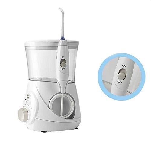DBSCD Professionelle Wassermann Wasser Flosser für Zähne Munddusche Floss Wasserstrahl 700ml Wasserkapazität 10 Stufen einstellbar wasserdicht für zu Hause verwendet