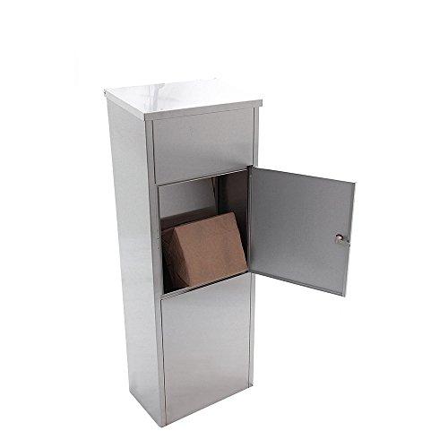 Allux Paketkasten WIEN aus Edelstahl - 4