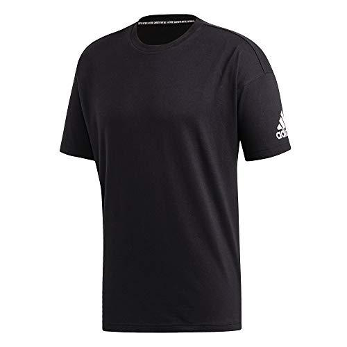 adidas Herren MH Plain Tee T-Shirt, Black, 2XL (T-shirts Plain)