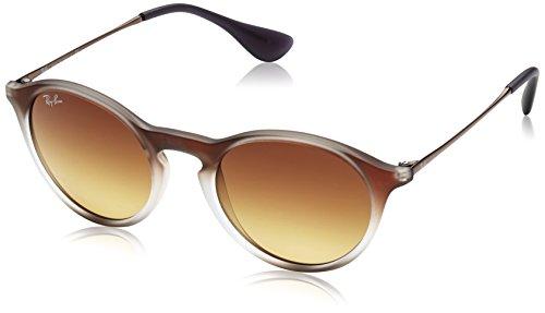 Ray Ban Unisex Sonnenbrille RB4243, Mehrfarbig (Gestell, Gläser: Hellbraun verlauf braun 622413), Medium (Herstellergröße: 49)