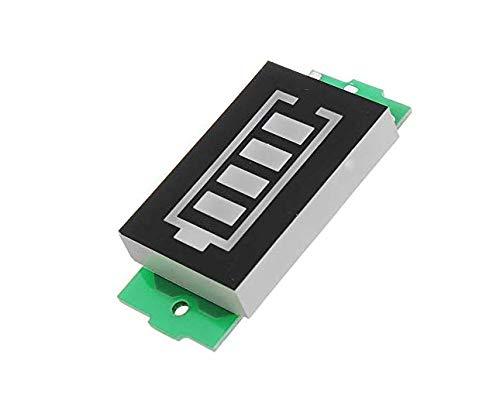 MYAMIA 3Stk 2S Lithium-Akku-Pack Power Indicator Board Elektro-Fahrzeugbatterie-Power-Indikator 8V Stromspeicher -