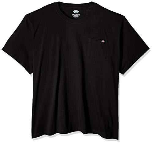 Dickies Herren Heavyweight Crew Neck Short Sleeve Tee Arbeits-T-Shirt, schwarz, 6X