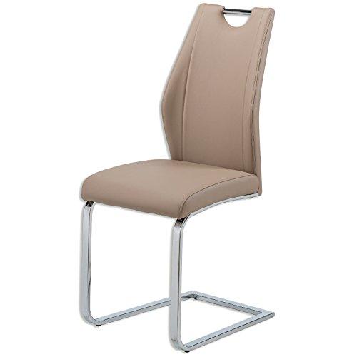 ROLLER Schwingstuhl - beige - Kunstleder
