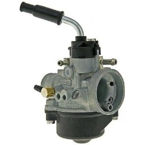 Carburatore DELLORTO 17,5mm Piaggio con predisposizione all'accensione dell'aria con meccanismo elettronico - Gilera-Runner 50 [1999-2000]