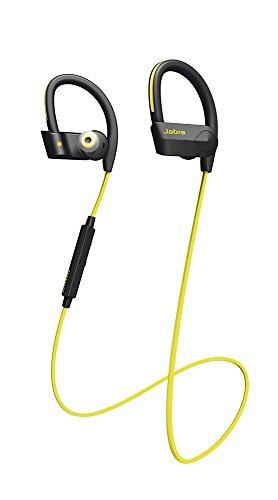 Jabra Sport Pace Wireless In-Ear-Sport-Kopfhörer (Stereo-Headset, Bluetooth 4.0, NFC, Freisprechfunktion) gelb