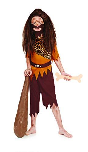 Stone Age Boy - Kinder Kostüm - Mittel - 124cm - Alter ()