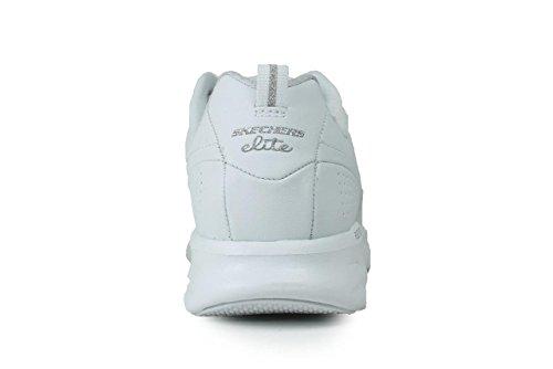 Skechers - Flex AppealNext Generation, pantofole da donna bianco (pelle)