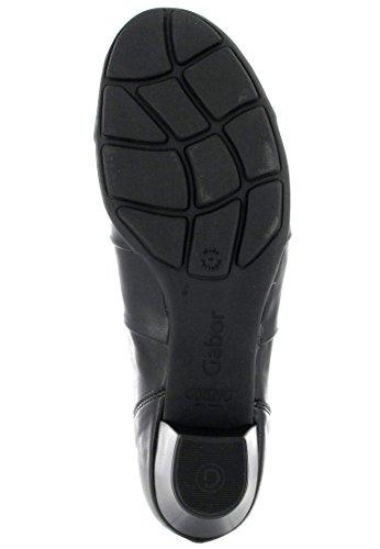 SALE - GABOR - Damen Trotteur Pumps - Schwarz Schuhe in Übergrößen Schwarz
