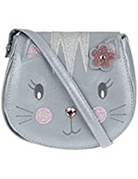 Accessorize Sac selle chatoyant motif chat Chloé - Fille