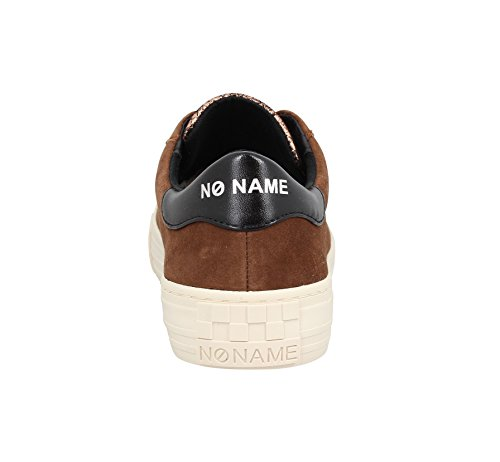 NO NAME Arcade Sneaker suede Femme Marron Cuivre Marron Cuivre