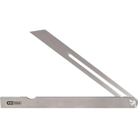 KS Tools 300.0327 - Cuadrado de acero ajustable, 200 mm