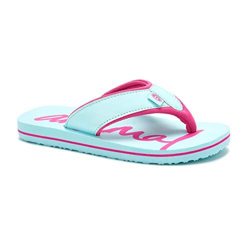 Animal Girls Flip Flops Swish Logo