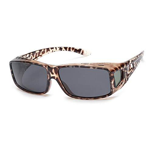 JFFFFWI Rapid Eyewear Fashion Womens POLARISED Over Glasses UV400 Sonnenbrille, die über Normale Brillen für Damen passt. Ideal zum Fahren, Radfahren, Sport.
