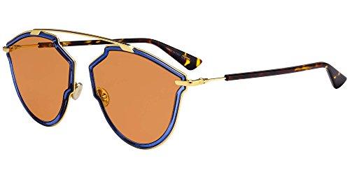 Dior Sonnenbrillen REAL RISE BLUE/ORANGE Unisex