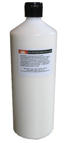 Fait à la main Naturel Crème légère de menthe poivrée/Soin hydratant – Gamme N ° 9 – sébum/équilibrage de pH, l'acné/points noirs/OPEN Pore/Perioral Soulagement de la Dermatite, réduisant la cellulite Line, Revitalisation de la peau