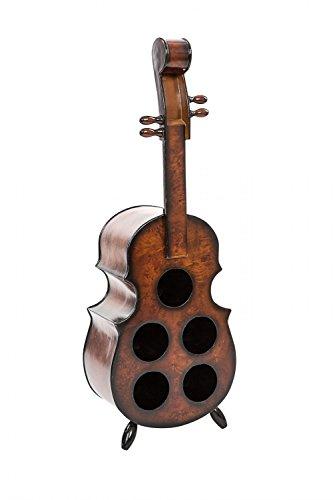 Weinregal 90cm Geige Violine Viola Weinständer Flaschenregal Flaschenständer