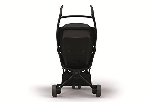 Quinny Zapp Xpress Poussette 3 Roues Légère, Ultra Compacte, Pliage Facile All Black