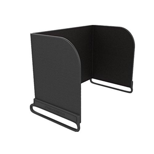 """Hensych Fernsteuerpult Telefon Monitor Sonnenhaube Sonnenschutz Abdeckhaube Smartphone Tablet iPad Sonnenschutz für DJI MAVIC PRO / Inspire / PHANTOM 3 4 M600 OSMO (L200 for 9.7\"""" Pad, Schwarz)"""