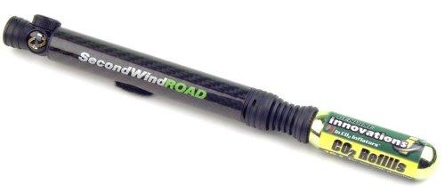 Genuin Innovation Pompa Co2 incluso Second Wind Road Mini Carbon