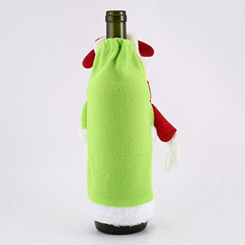 ppe Flasche Wein HUSSEN Geschenk Dekoration des Hauses Partei Sehr praktisch Feiertage und Geburtstage Mittelstücke Ornament Saisonale Deko/Weihnachten ()