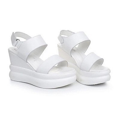 Comfort 4In UK5 Casual CN38 Pu EU38 Bianco Nero 3 Estate 5 2A RTRY Donna 2 US7 5 Sandali PZx11E