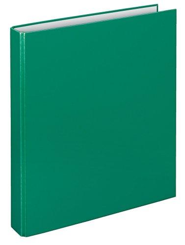 Veloflex 1143040 - Carpeta de anillas A4, 4 anillas, 25 mm altura completa, color verde