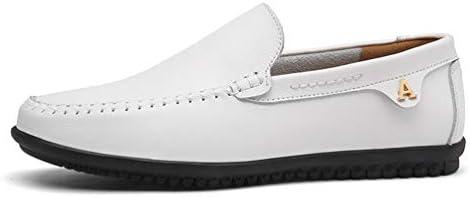 Hombres Mocasines Verano Flexibles Zapatos de conducción Transpirable Slip-on Zapatos artesanales de Cuero de...