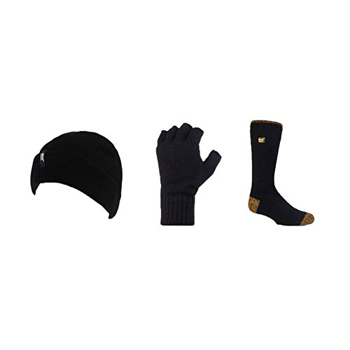 Heat Holders - Das Ultimative Workmans Winter Set - Mens Umsatz Hüte Hut, Handschuh...