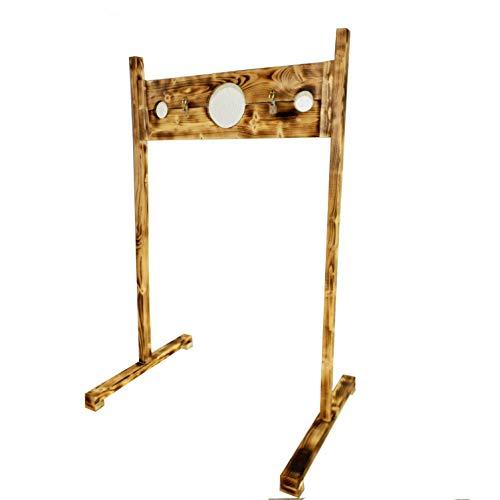 Rustikaler Pranger in leichter Bauart,abschließbar Hals und Armöffnung