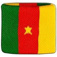 Digni/® Poignet /éponge avec drapeau Colombie pack de 2