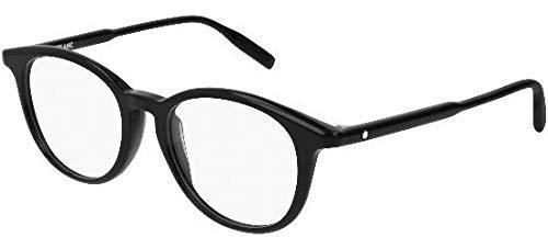 Brillen Mont Blanc MB0009O BLACK Herrenbrillen