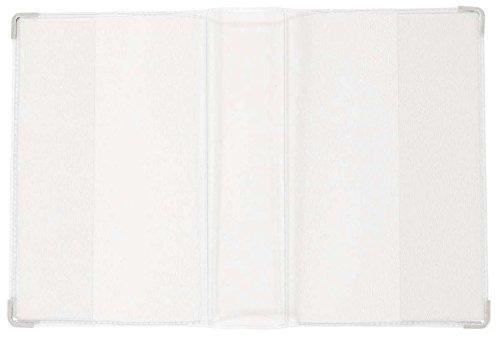 Gotteslob-Hülle, transparent: Buchecken silber
