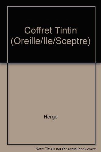 Coffret Tintin (Oreille/Ile/Sceptre)
