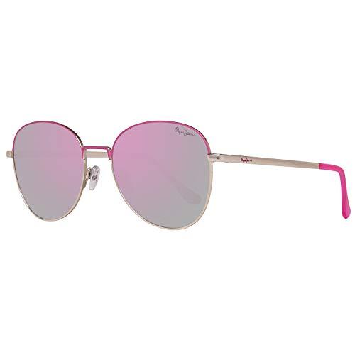 Pepe Jeans Damen PJ5136C354 Sonnenbrille, Gold, 54
