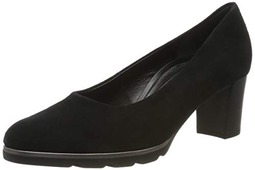 Gabor Shoes Damen Comfort Fashion Pumps, (Schwarz 47), 38.5 EU