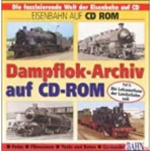 Dampflok-Archiv, je 1 CD-ROM, Tl.2 : Die Lokomotiven der Länderbahnzeit, 1 CD-ROM Für Windows 3.1 und MacOS 7.1
