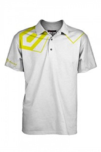 Fayde Golf pour Homme Mode Camouflage Polo de Golf L Blanc